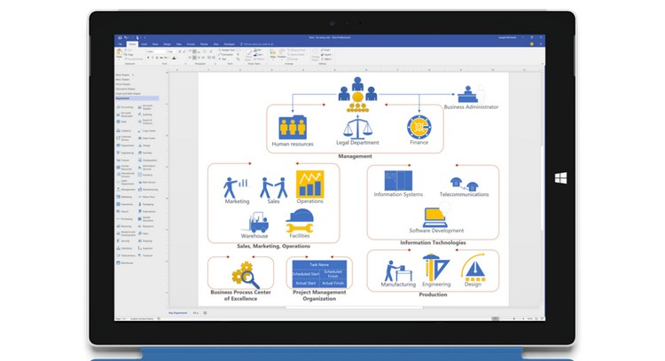 Visio alternatives 10 best diagramming software beebom ccuart Image collections