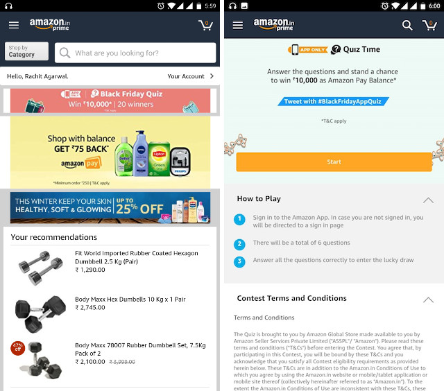Amazon India Black Friday Sale - 🚩 Black Friday | Amazon Global Store ⚡ Up to 40% OFF - Diwali Deals/Offers | November Sale | Diwali Promo Codes,Deals & Coupons For November Sale - Diwali GOSF