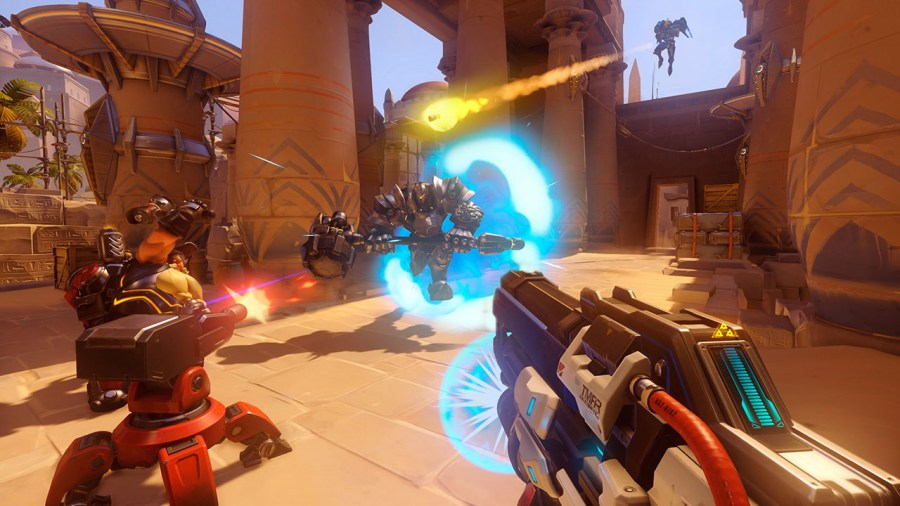 15 Best Shooting Games for PS4 You Must Play  2017    Beebom Overwatch is probably one of the best arena shooters for the PS4  This game  is the perfect mix of MOBA elements and First Person shooter which make it  one