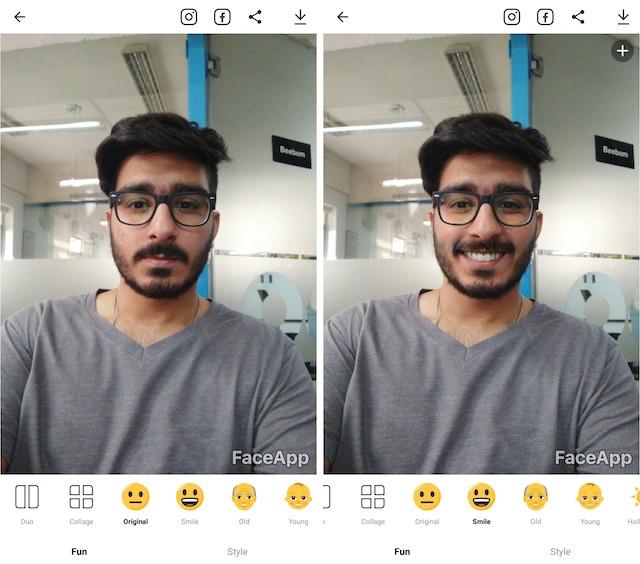 5 - faceapp