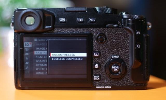 Fujifilm X-Pro2 RAW Formats