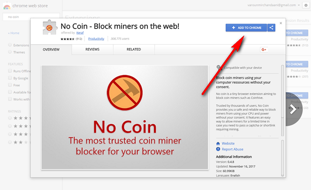 How To Use Chrome To Block Bitcoin Mining New Outside Mining Rig