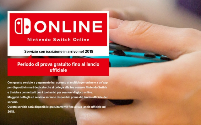 nintendo switch paid online subscription service delayed till fall