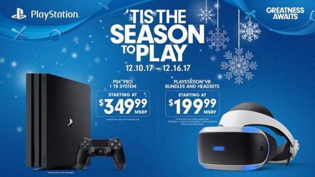 PS4 Pro and PS VR Deals