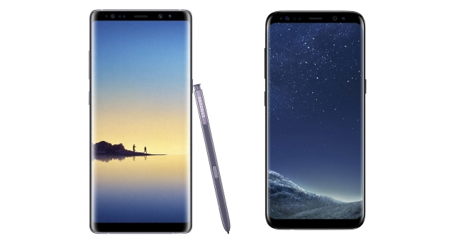 Samsung Galaxy S8 and Galaxy Note 8