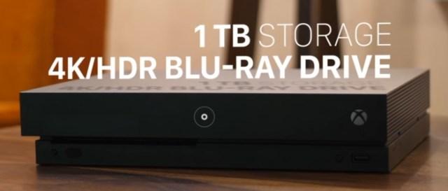 Xbox One X Storage