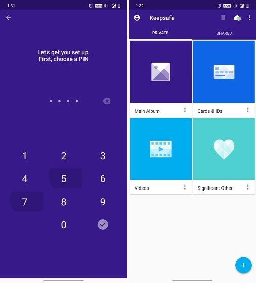 1. Aplikasi Sembunyikan Foto dan Video Android - KeepSafe Photo Vault