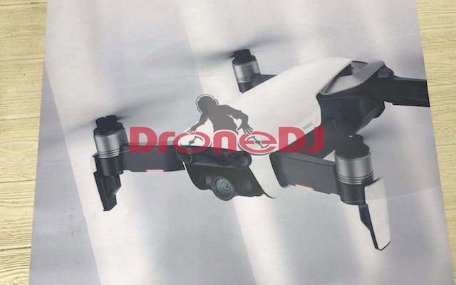 DJI Mavik Air Leak 1