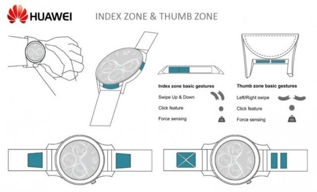 Huawei touch sensetive bezel 1
