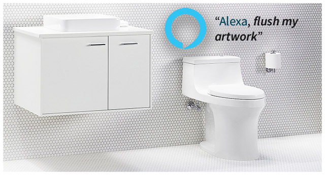 Kohler's Smart Bathroom is a Great Way to Share Shower Thoughts With Alexa