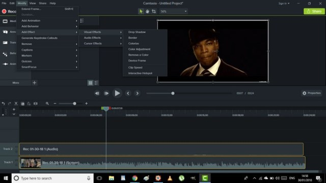 camtasia custom transitions