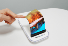 Samsung's bendable and foldable displays