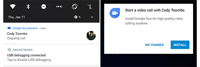 Google Duo Now Lets You Call Contacts Who Don't Have the App Installed