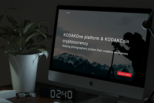 Kodak stock soars on KodakCoin announcement