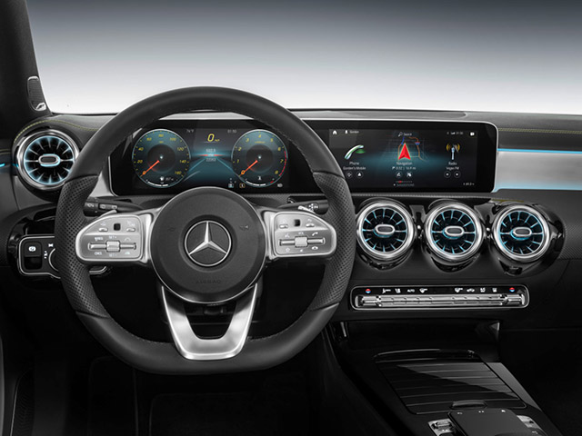 Mercedes Shows Off New Voice Assistant In Improved Infotainment Parcel at CES 2018
