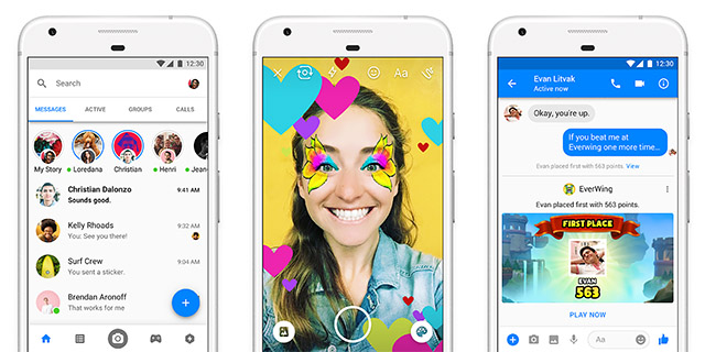 Facebook Messenger Will Be a Lot Less Cluttered in 2018