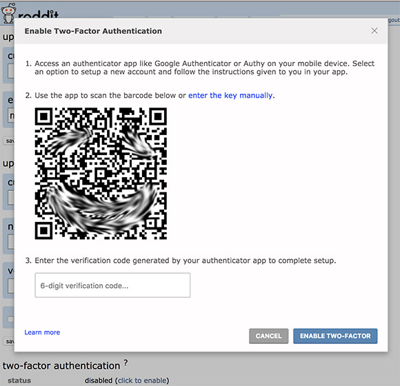 Secure Your Reddit Account Now With Two-Factor Authentication