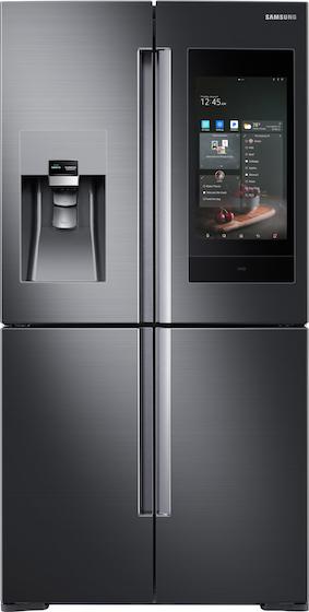 samsung smart hub refrigerator