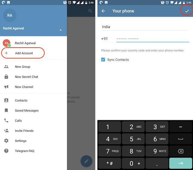 Forex account management telegram