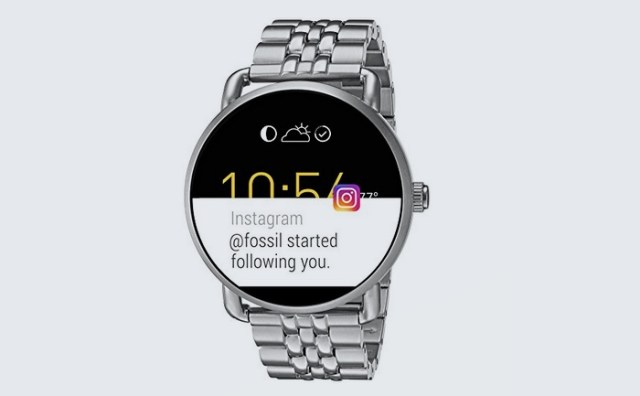 Fossil Q Wander looks like a classic watch but has Android Wear