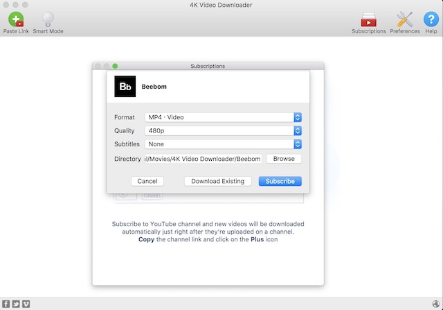 2- Auto-download With Video Subscription