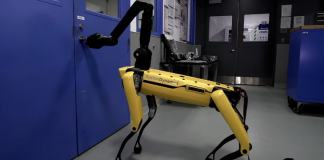 You Can't Stop Boston Dynamics SpotMini from Opening a Door