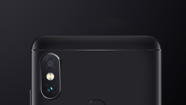 Dual cameras on the Redmi Note 5 Pro