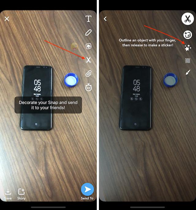 11. Используйте инструмент Magic Eraser на Snapchat 1