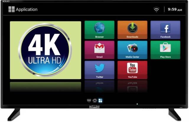 5. Mitashi 4K LED Smart TV - MiDE040v03 FS