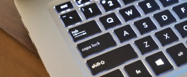Asus VivoBook S15 S510UN Keyboard Capslock