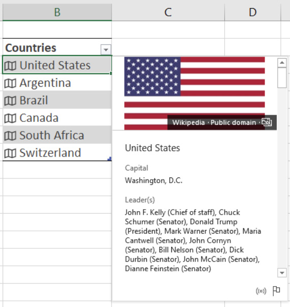 Excel AI Feature