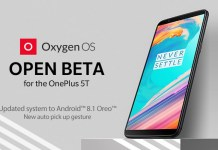 OxygenOS Open Beta 4 Update Brings Android 8.1 Oreo to OnePlus 5T