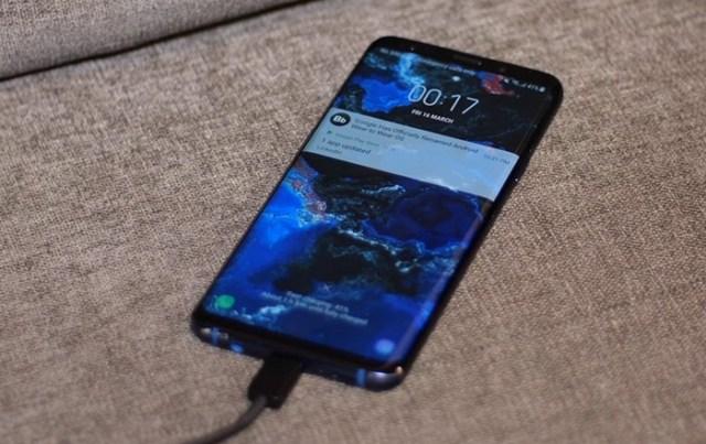 S9 Plus Quick Charging