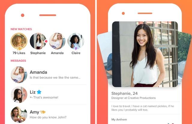 Top dating app tinder
