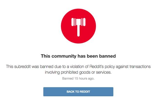 reddit community ban