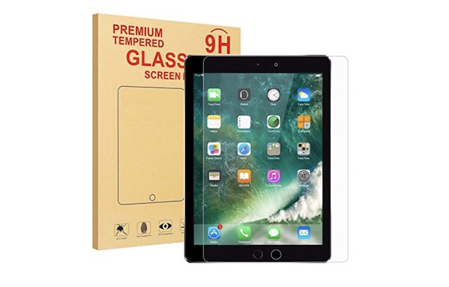 10. MENZO Screen Protector for iPad 9.7 2018