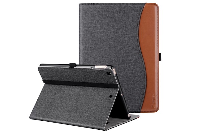 10. Ztotop Premium Leather Case for iPad 2018
