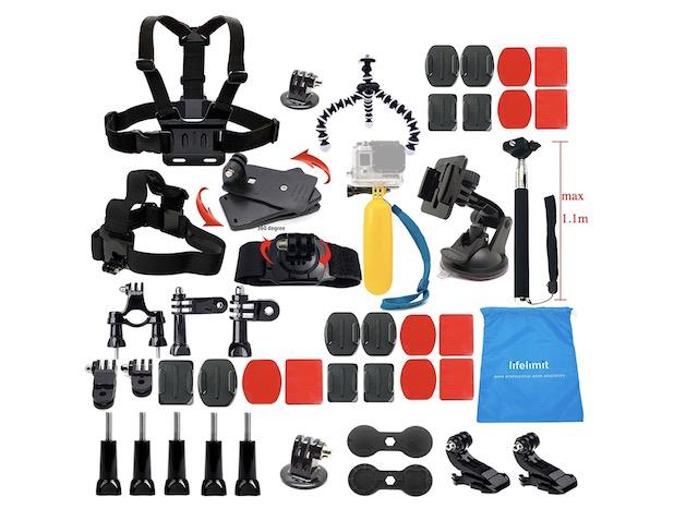 13. Lifelimit Accessories Starter Kit for GoPro Hero