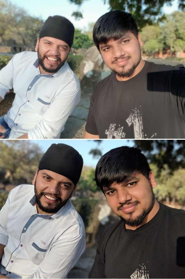 4. Portrait Selfie shots 2