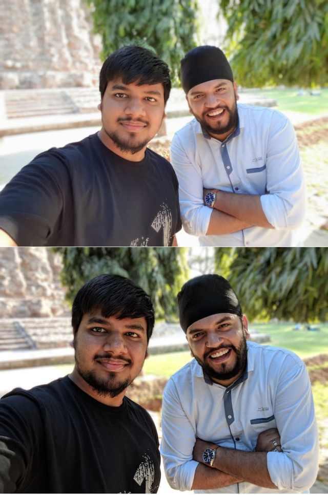 4. portrait selfie shots 1