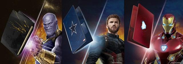 Acer Avengers Infinity War Laptops