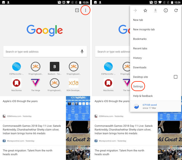 Bloquear anuncios intrusivos de forma nativa en Google Chrome 1