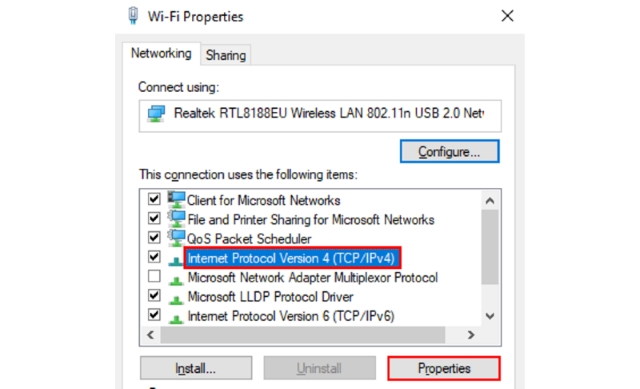 Cloudflare Windows Step 4