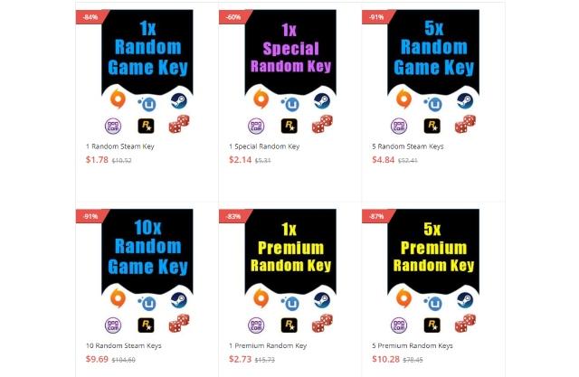 GoodOffer24 Random Key