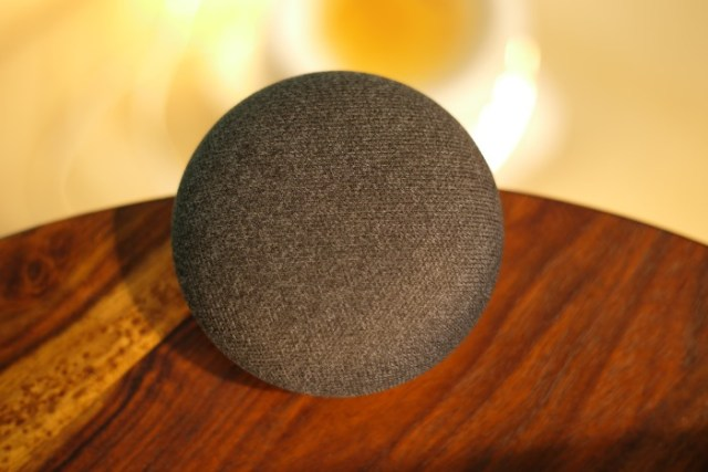 Google Home Mini Conc