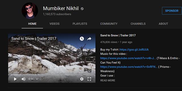 YouTube Sponsor Button
