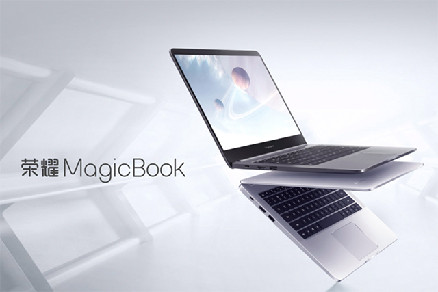 Honor MagicBook with 8th-Gen Intel CPUs, 2GB NVIDIA GPU Launched in China