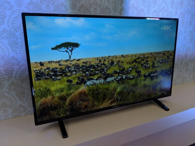 The 4K UHD Smart TV from Thomson