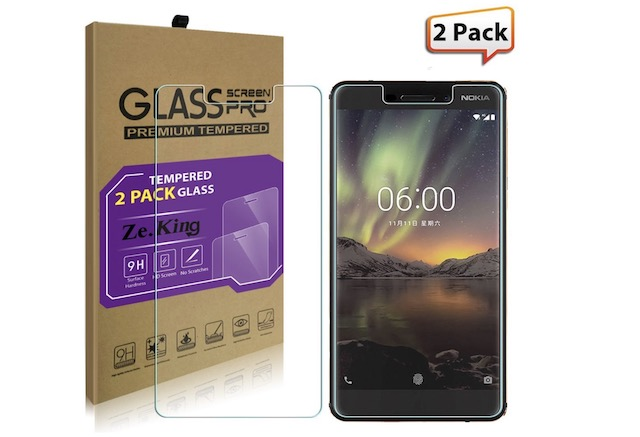 10. Nokia 6.1 screen protector