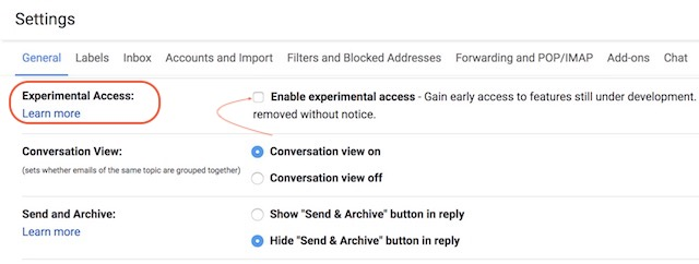 2. Enabling Smart Compose in Gmailb